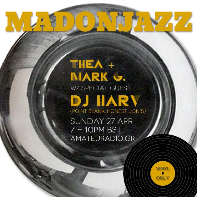 MADONJAZZ w/ DJ Harv