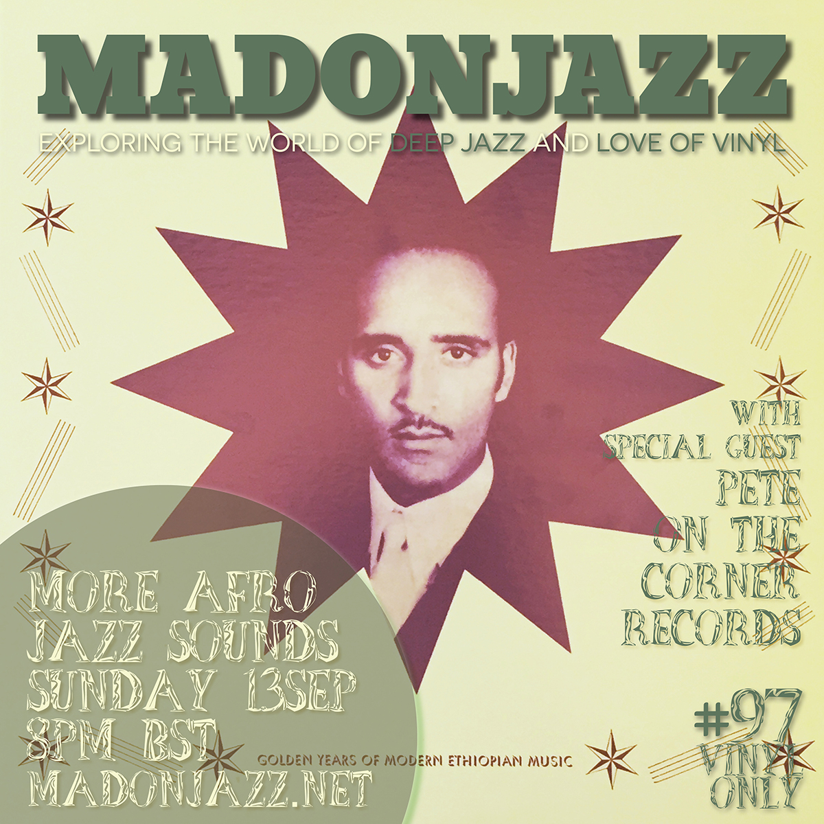 MADONJAZZ #97 – More AfroJazz Sounds w/ Pete On the Corner