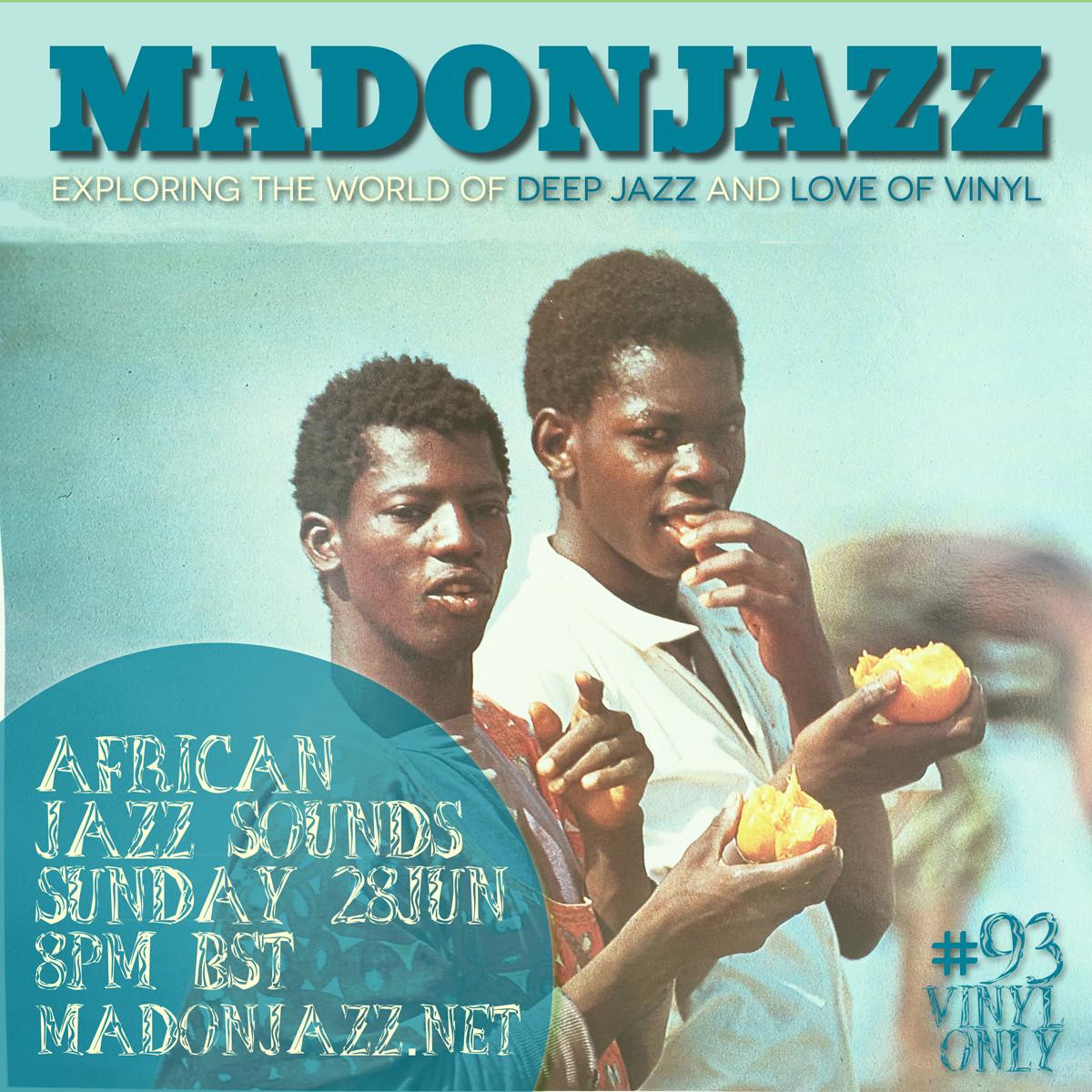 MADONJAZZ AFRICAN JAZZ SOUNDS VINYL