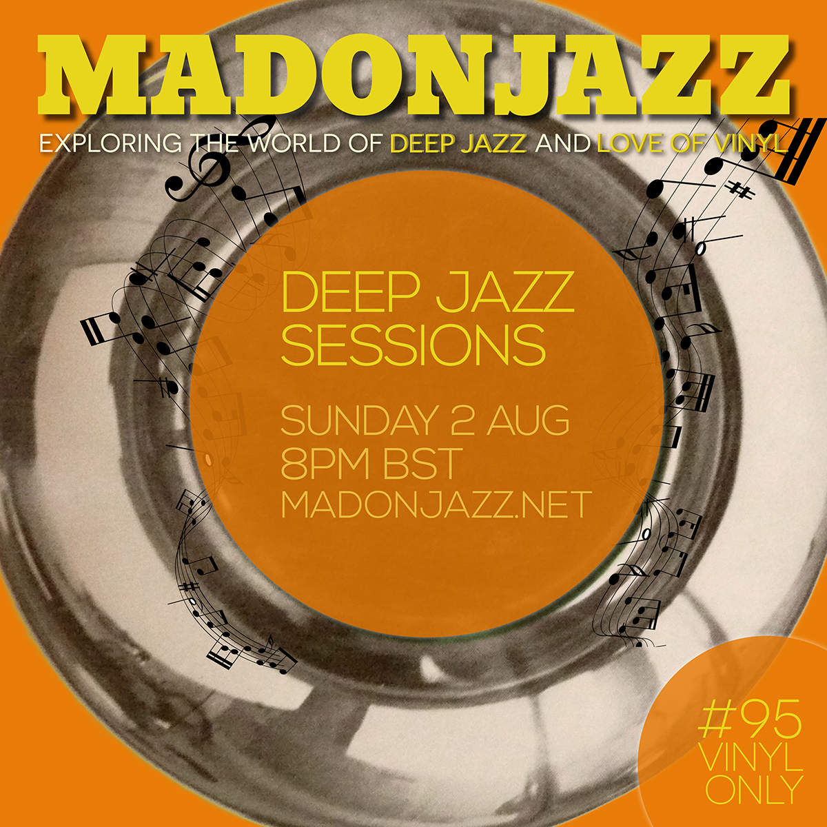 MADONJAZZ 02AUG DEEP JAZZ SESSIONS MARK G