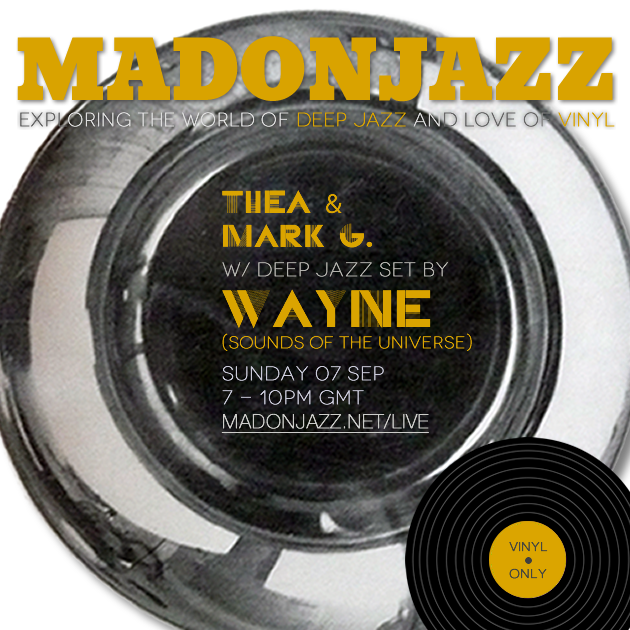 MADONJAZZ w/ Wayne (Sounds of the Universe)