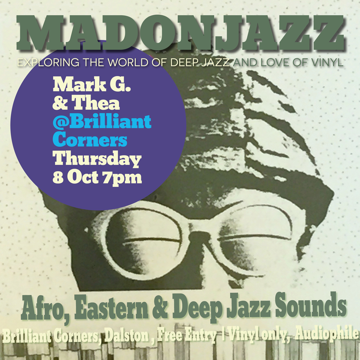 MADONJAZZ AT BRILLIANT CORNERS 8OCT