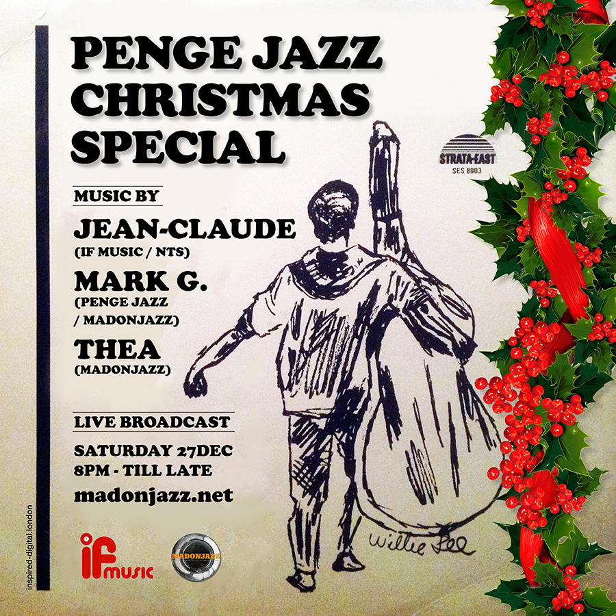 The Penge Jazz Sessions, Xmas 2014 – Session 3: Jean-Claude, Mark G. & Thea B2B