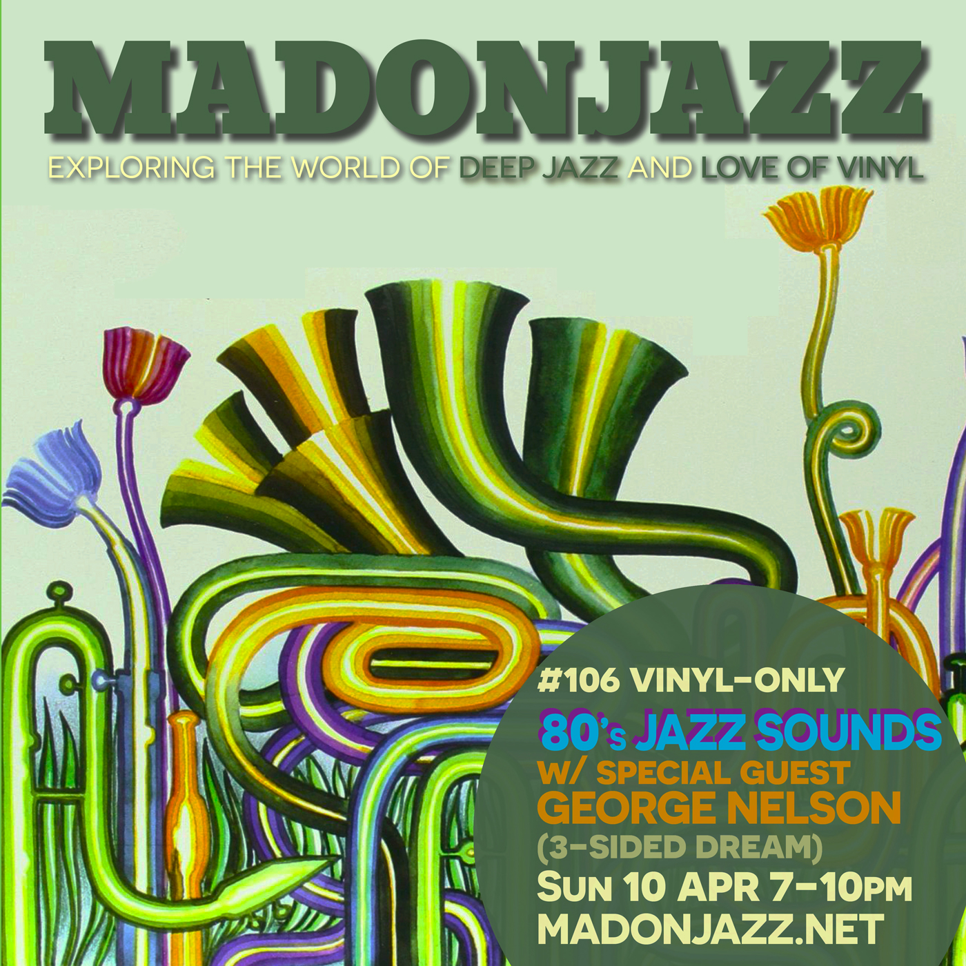 MADONJAZZ #106 – 80s JAZZ SOUNDS