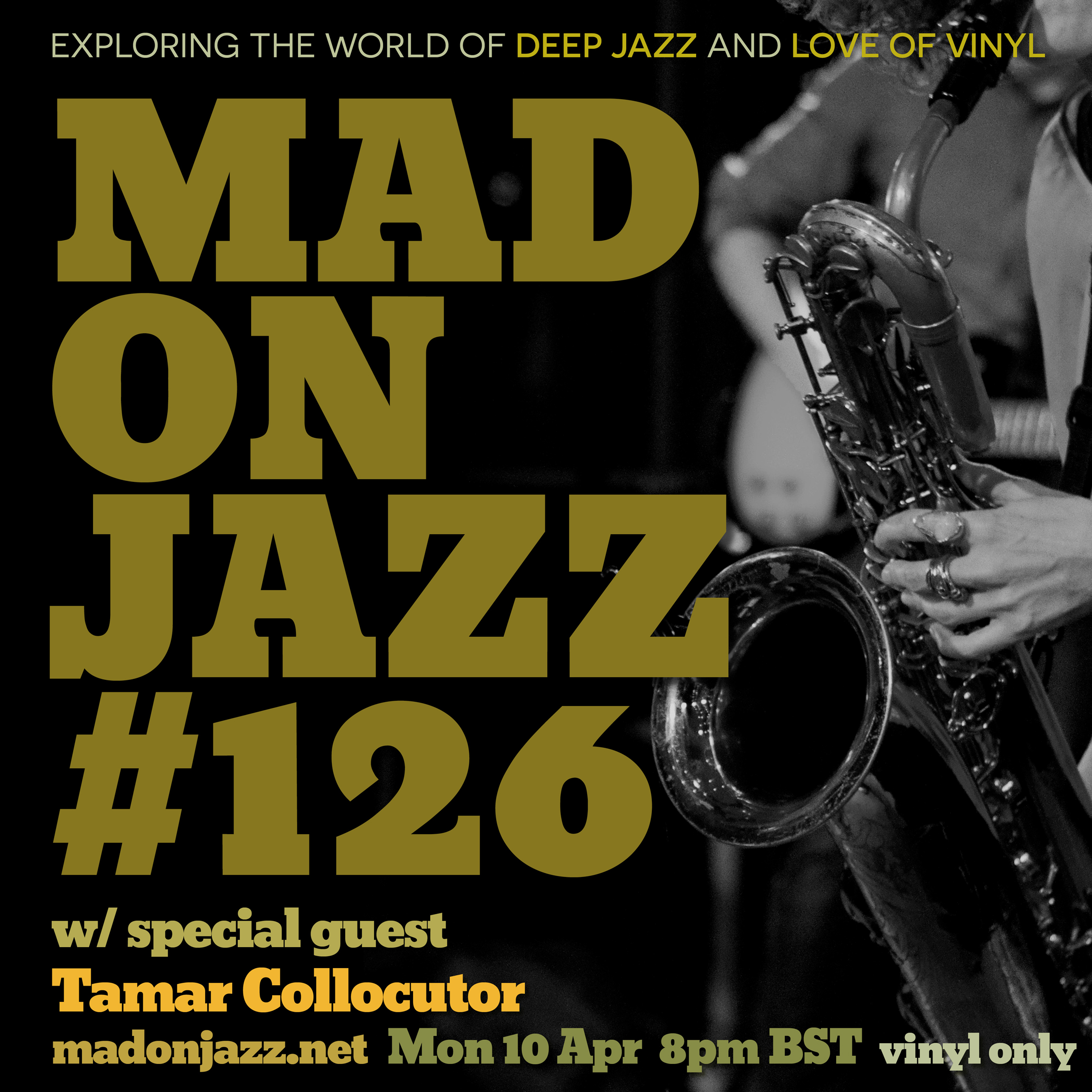 MADONJAZZ #126 with Tamar Collocutor