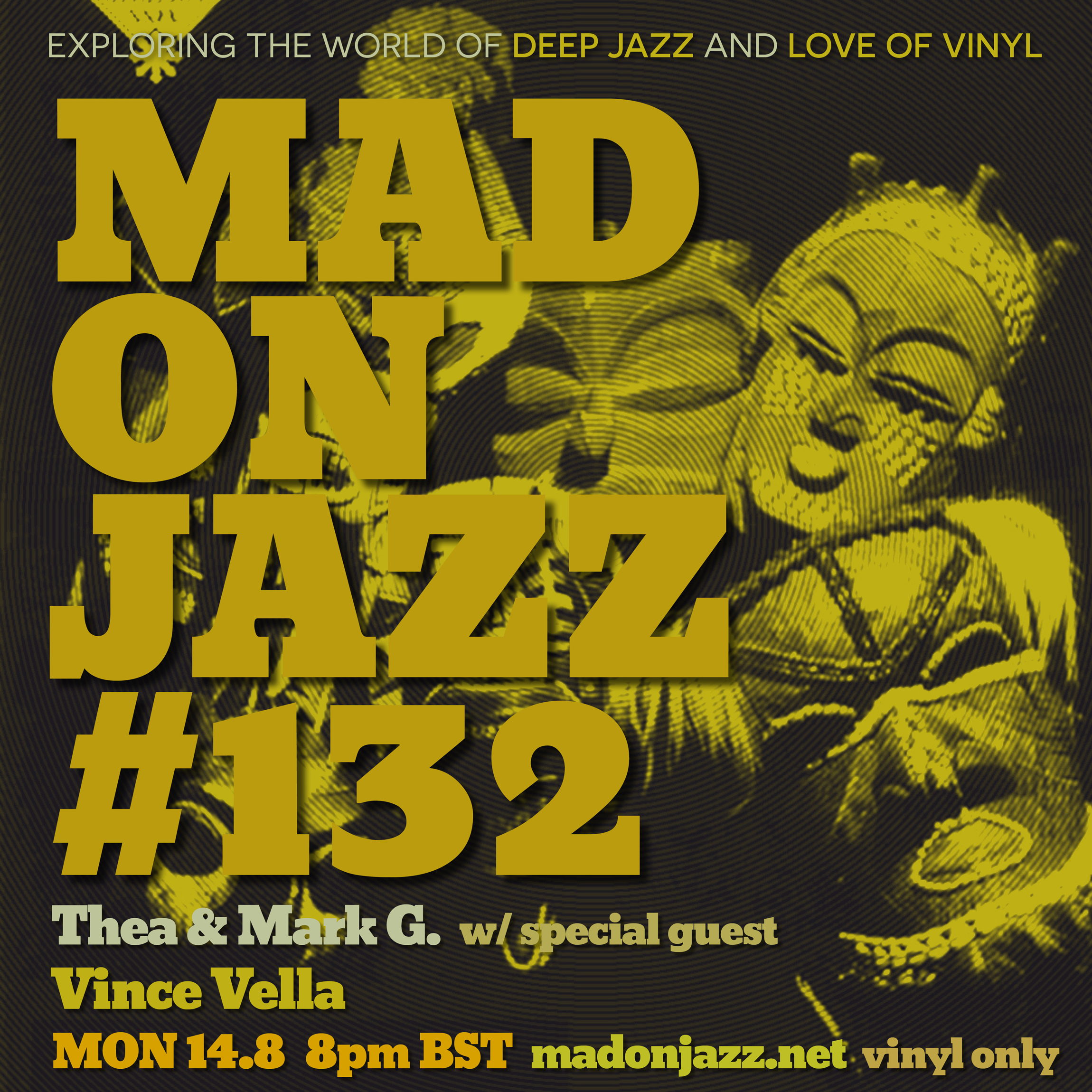 MADONJAZZ #132 w/ special guest Vince Vella​