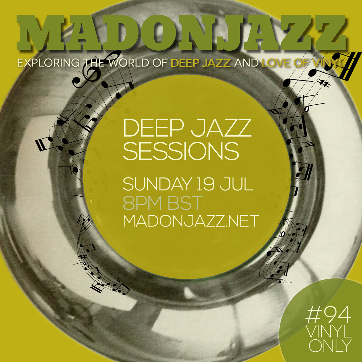 MADONJAZZ Deep Jazz Vinyl 19JUL