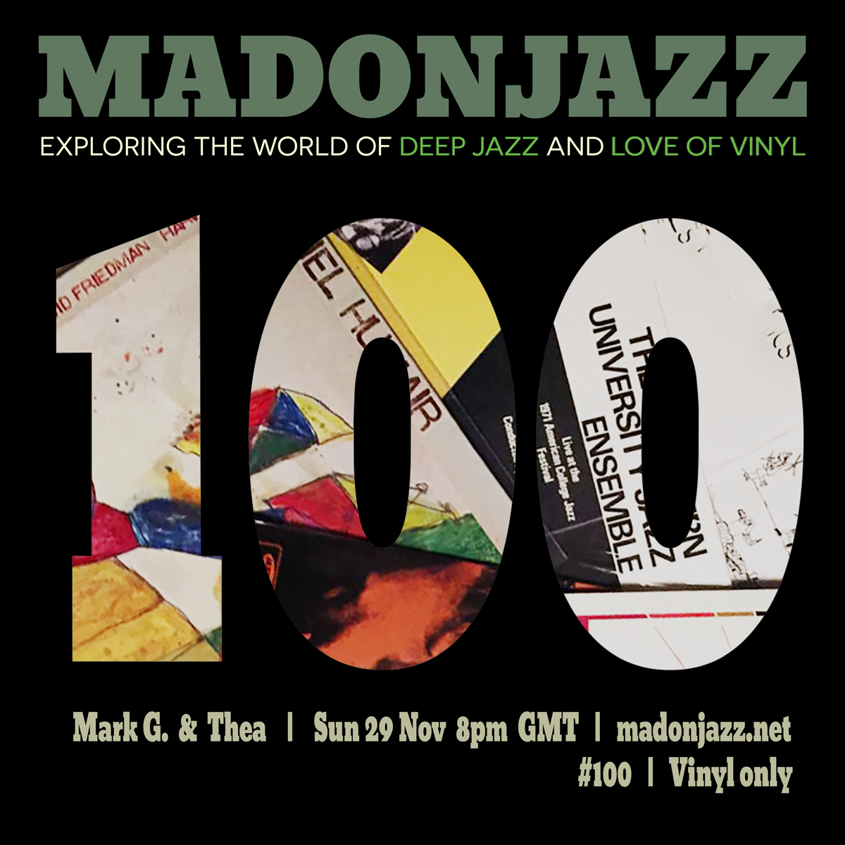 MADONJAZZ #100 Deep Jazz
