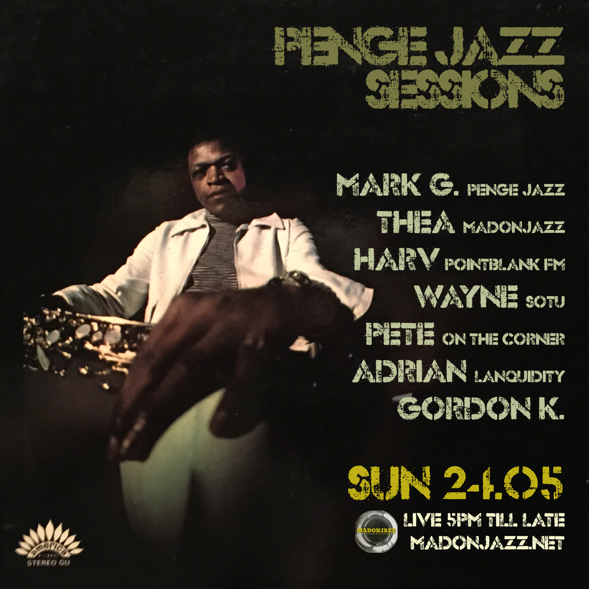 Penge Jazz Sessions – May 2015: Round Two