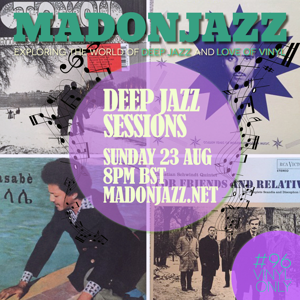 MADONJAZZ #96 - Deep Jazz Sessions w/ Mark G.