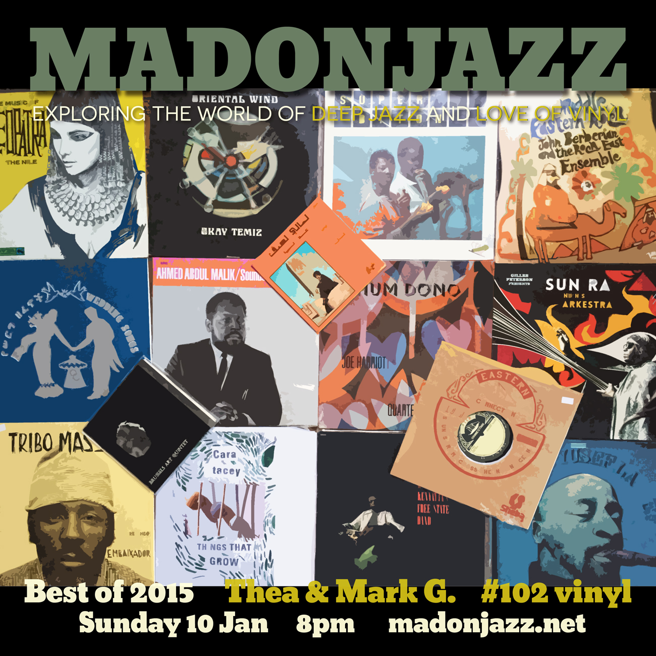 MADONJAZZ BEST OF 2015