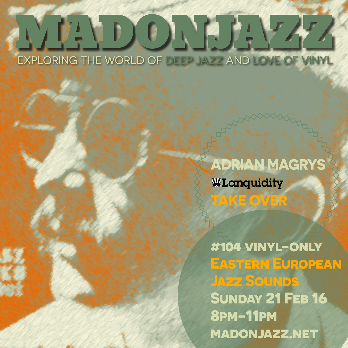 MADONJAZZ #104: Eastern European Jazz Sounds w/ Lanquidity Rec