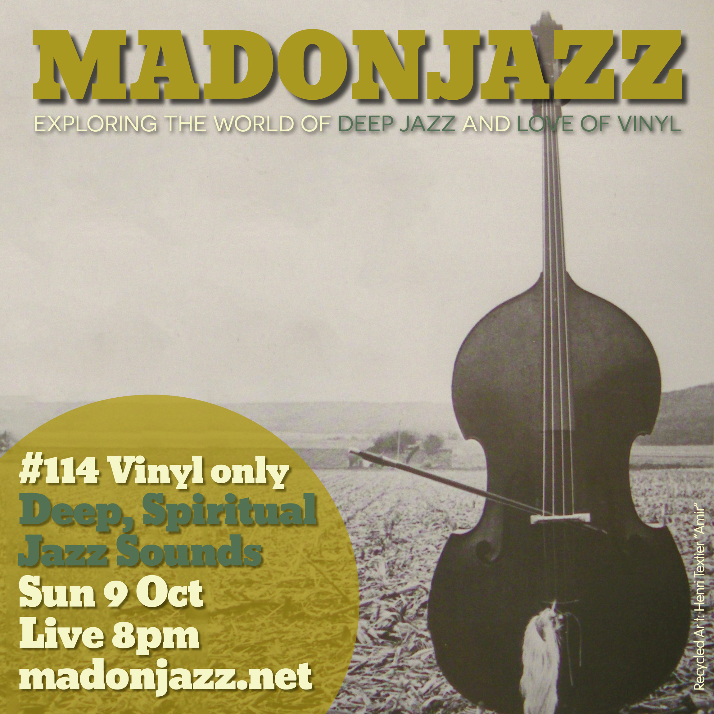 MADONJAZZ #114 - Deep, Spiritual Jazz Sounds