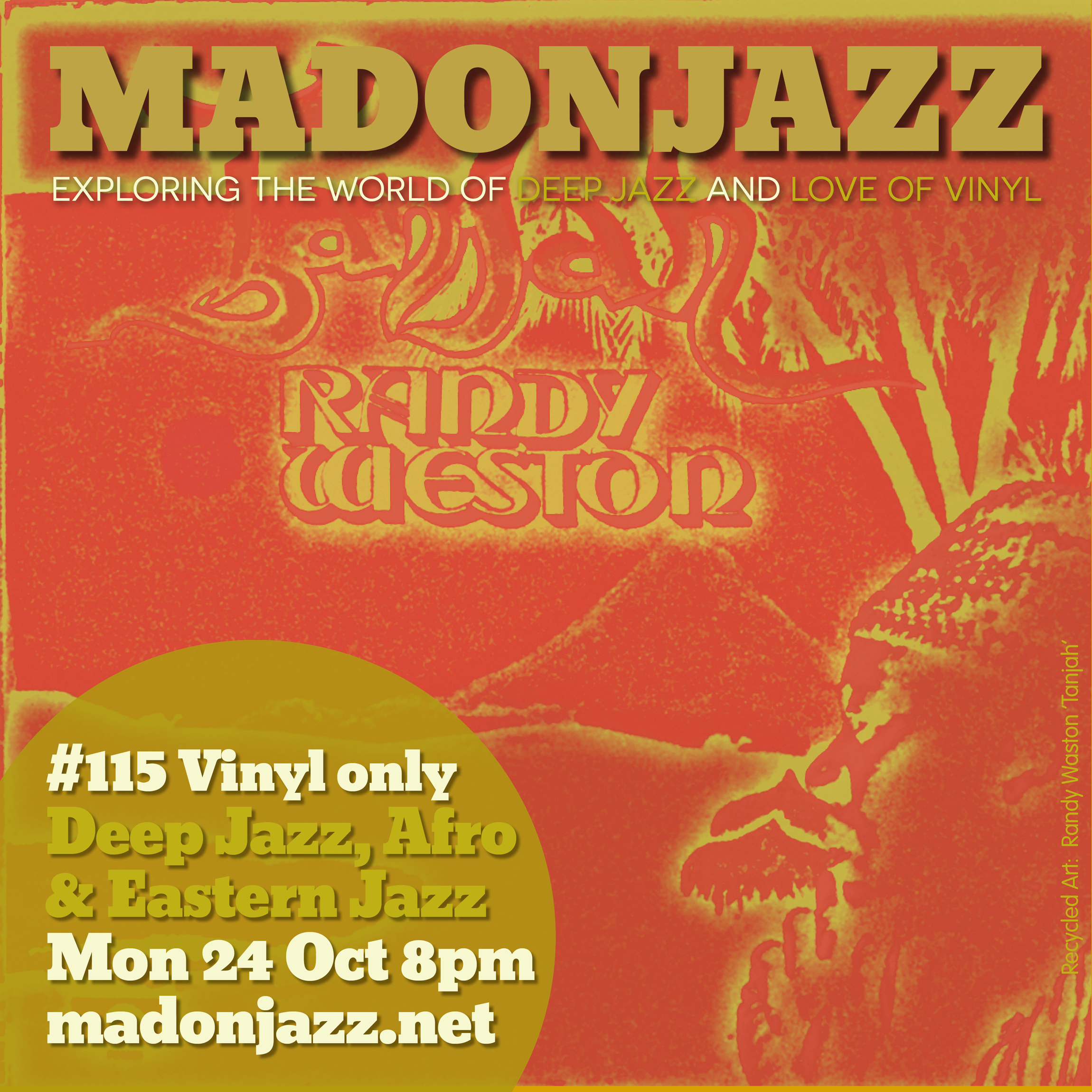MADONJAZZ #115: Deep Jazz , Afro & Eastern Sounds w/ Thea & Mark G.