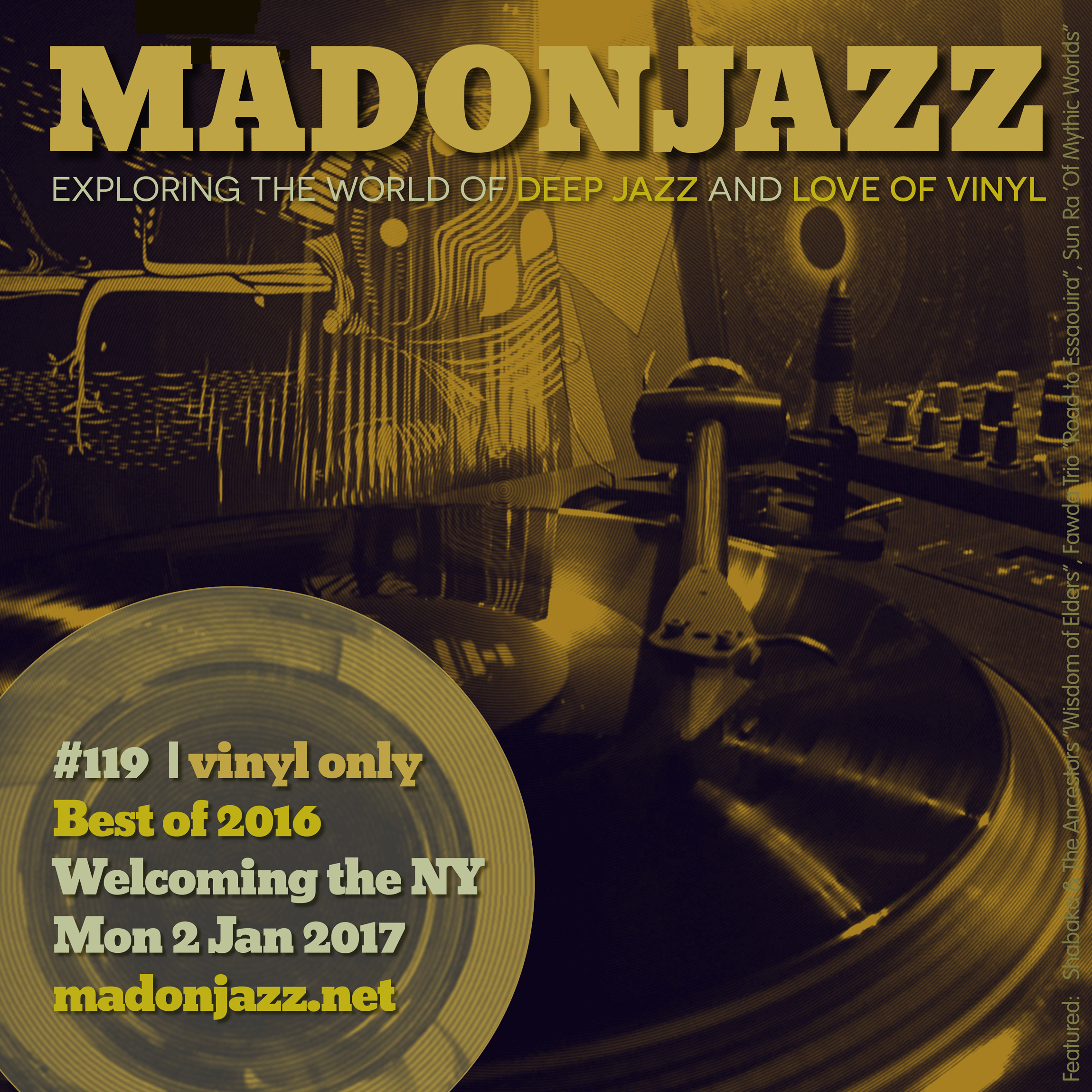 MADONJAZZ #119 Best releases and reissues of 2016