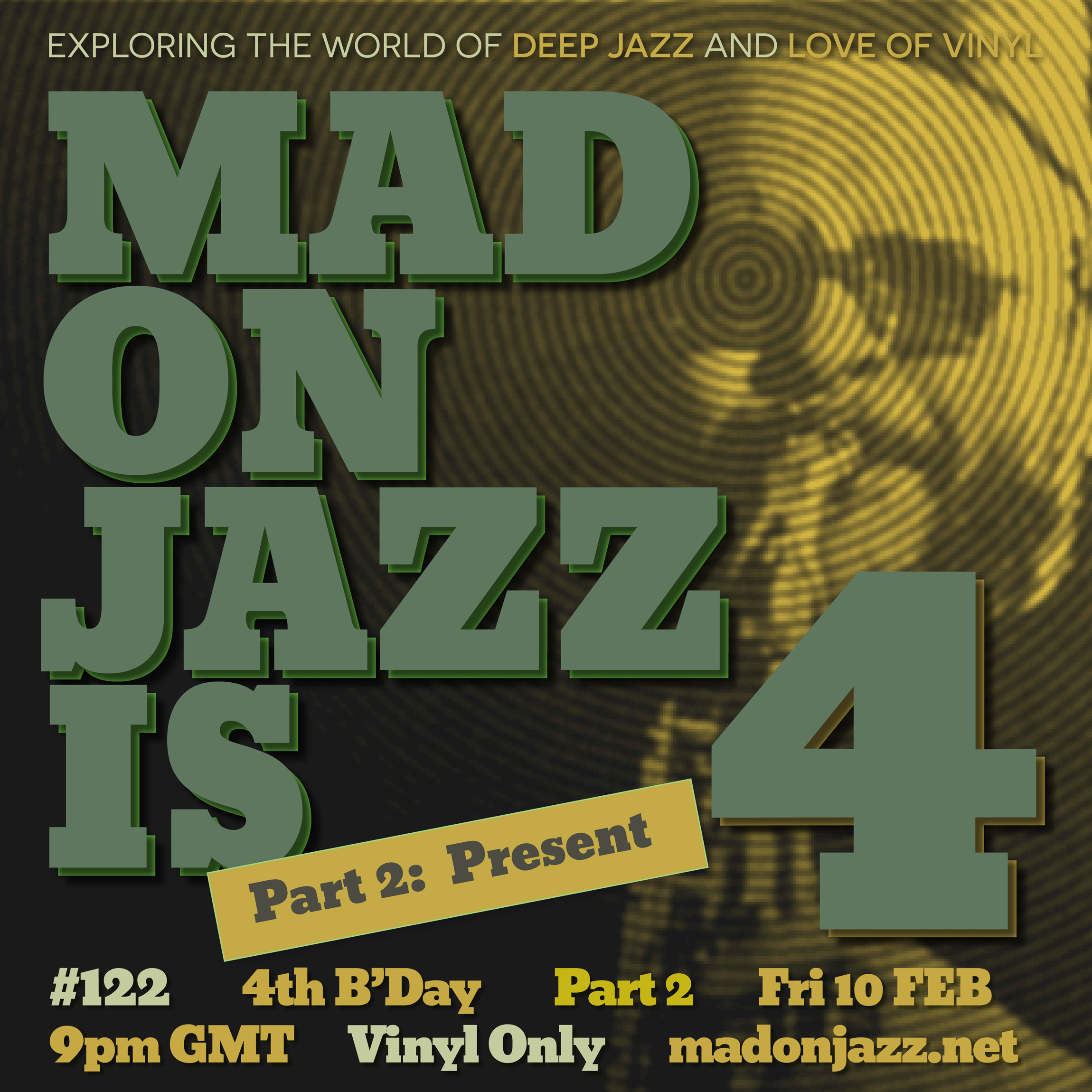 MADONJAZZ #122 – Deep Jazz, Afro & Eastern Jazz Sounds /Part 2: Present