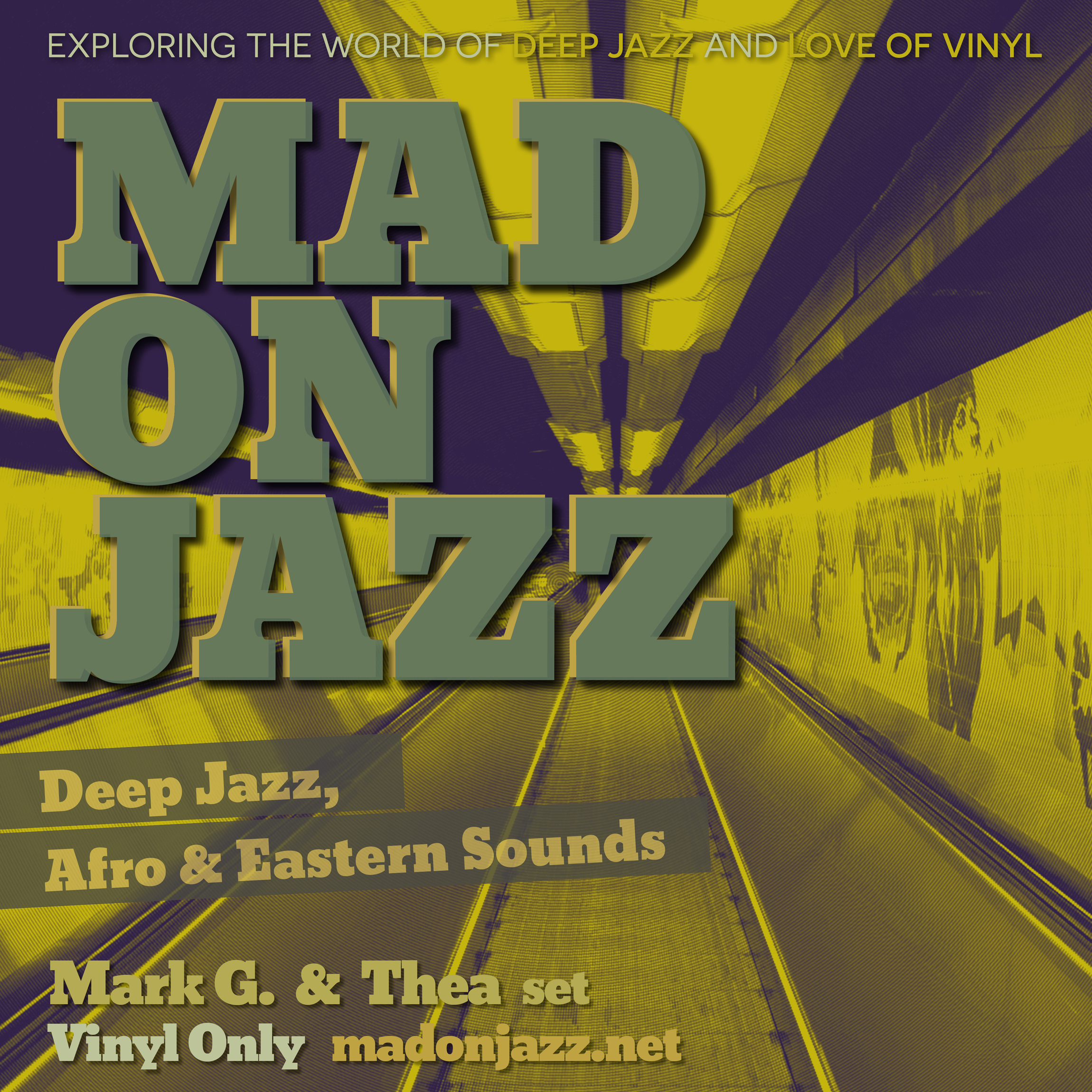 MADONJAZZ: Deep Jazz , Afro & Eastern Sounds w/ Mark G. & Thea