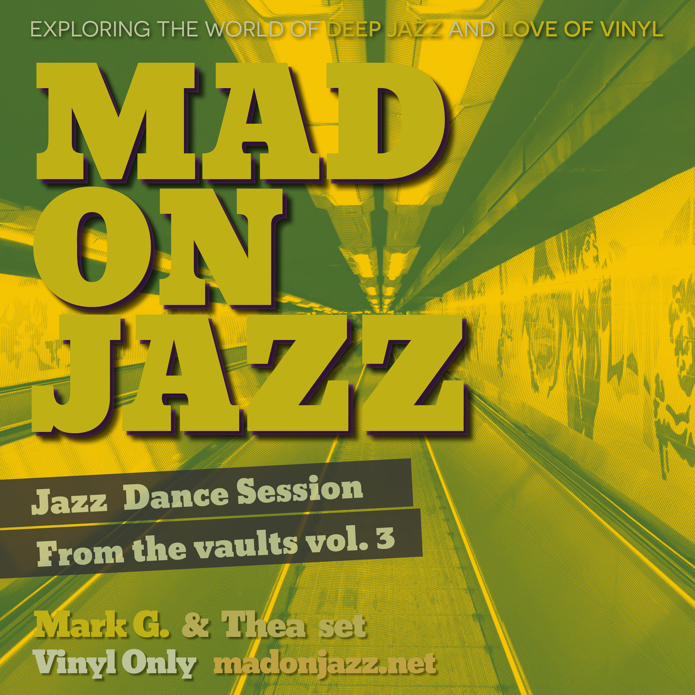 MADONJAZZ Jazz Dance Session : From the Vaults vol 3