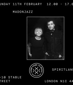 MADONJAZZ at Spiritland 11 FEB 2018 12-5pm