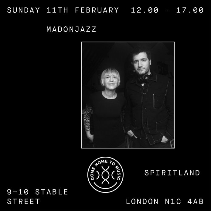 MADONJAZZ at Spiritland, London, FEB 2018