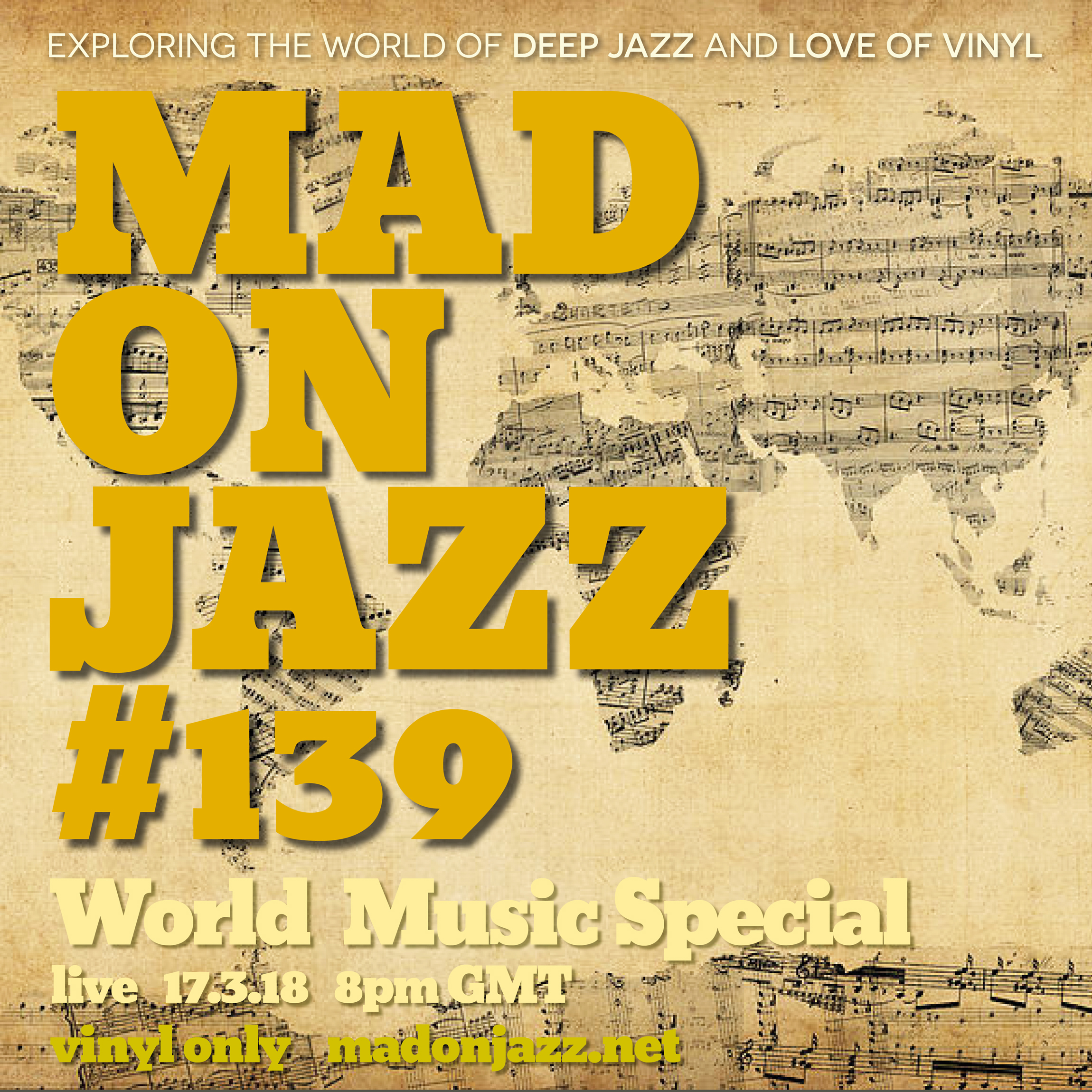 MADONJAZZ 139 World Music Special Vinyl only
