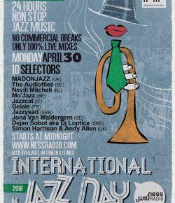 MADONJAZZ International Jazz day 2018 on Ness Radio