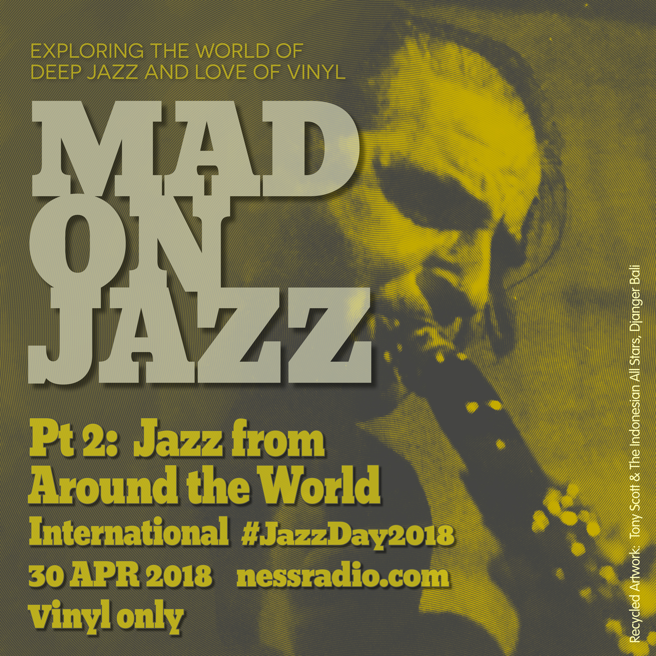 MADONJAZZ International Jazz Day special Pt 2: Jazz From Around the World