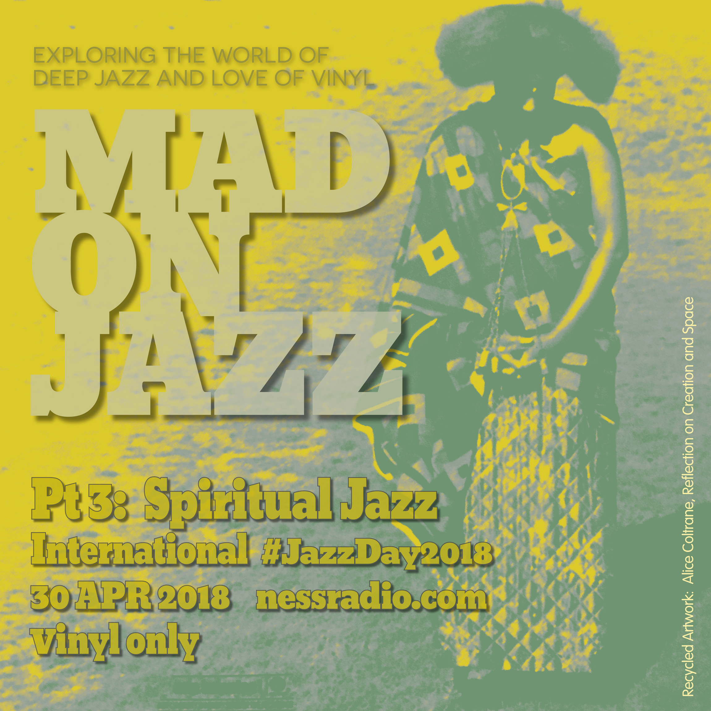 MADONJAZZ International Jazz Day special Pt 3: Spiritual Jazz