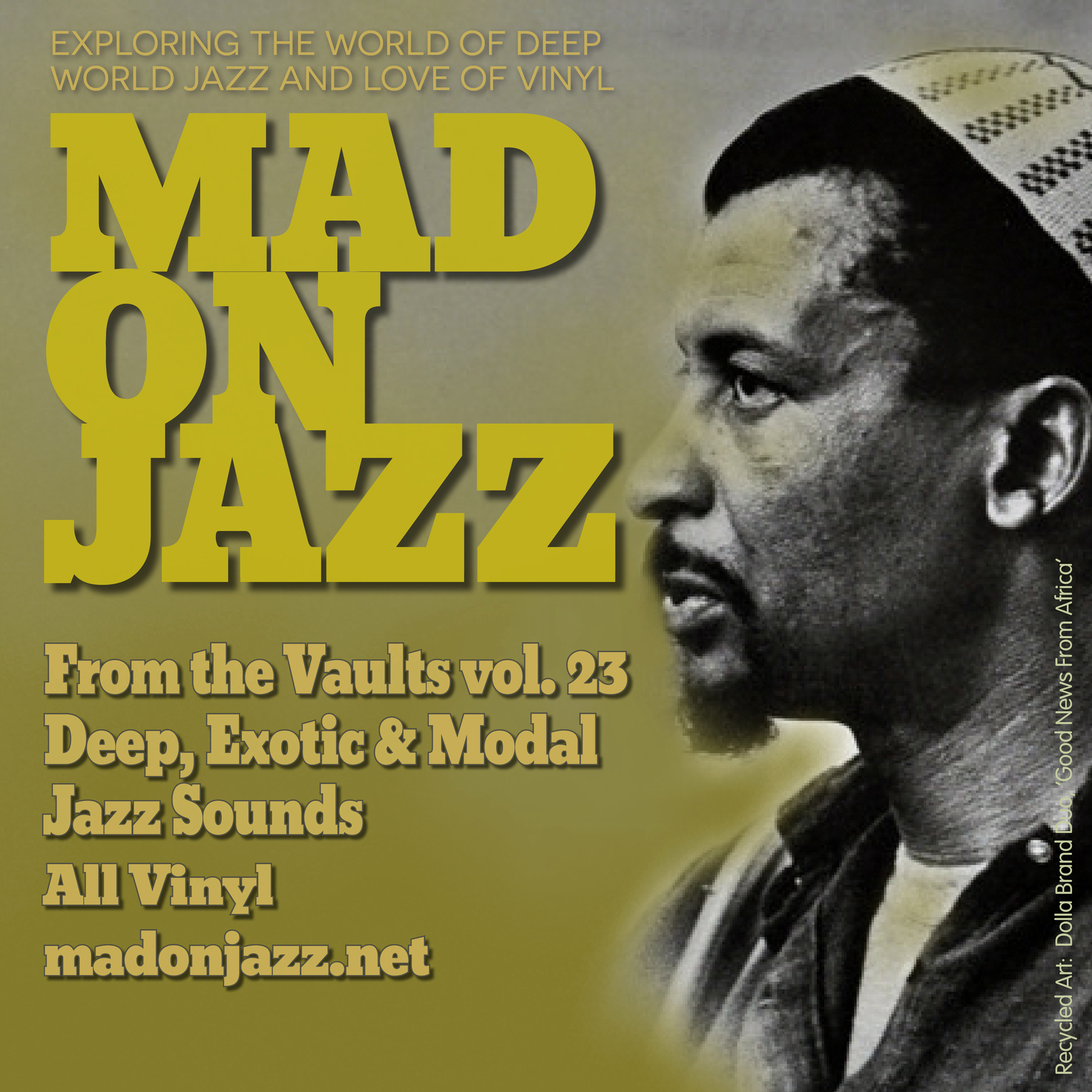 MADONJAZZ From the Vaults Vol. 23, Deep, Exotic & Modal Jazz Sounds