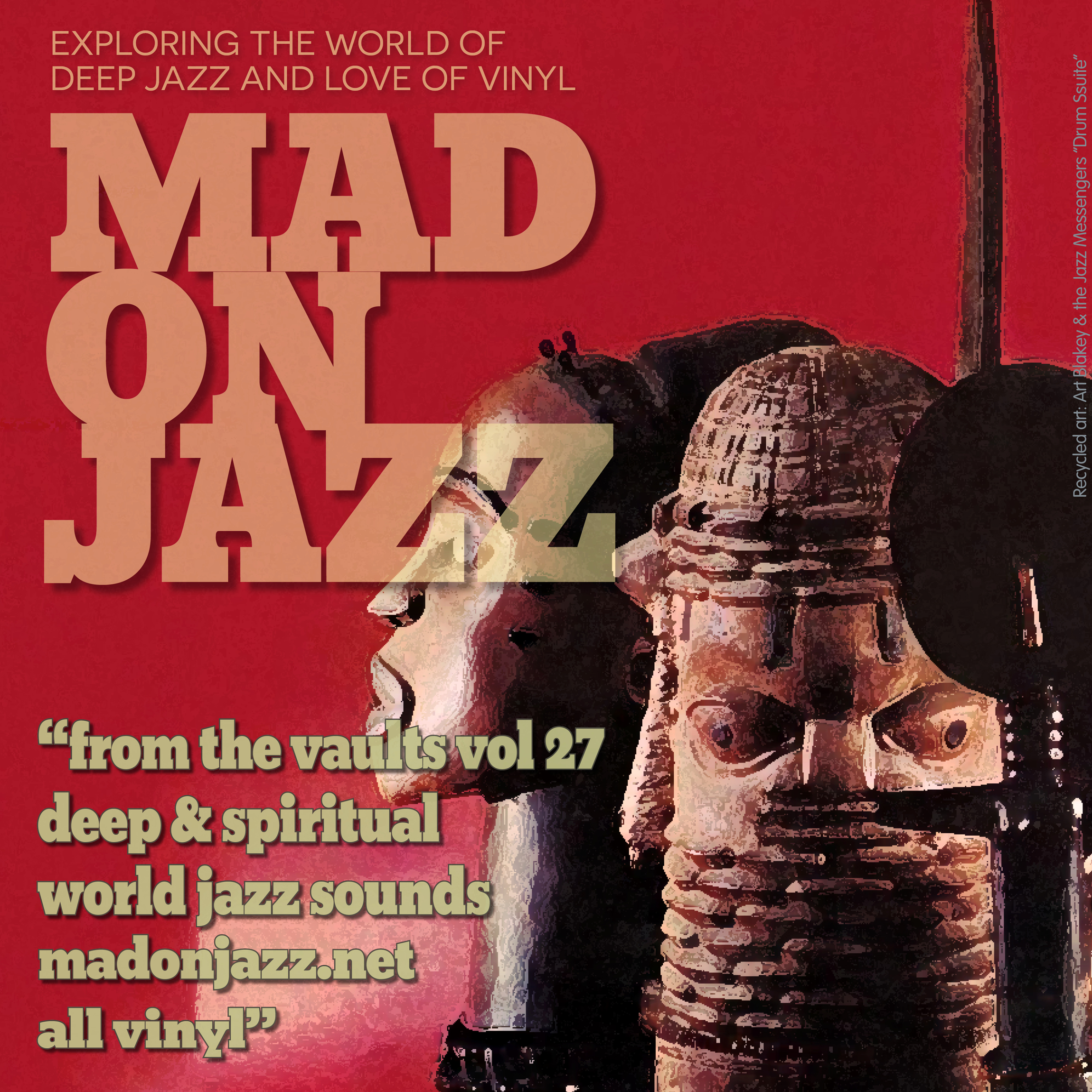MADONJAZZ From the Vaults Vol. 27: Deep & Spiritual World Jazz Sounds